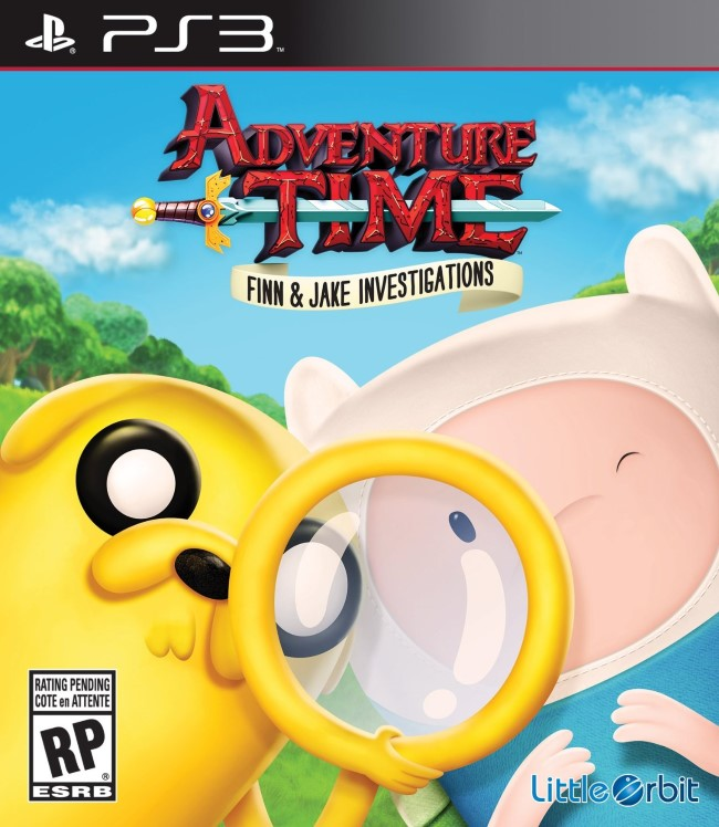 Adventure Time Finn and Jake Investigations - PS3  - FastGames - Gamers levados a s�rio