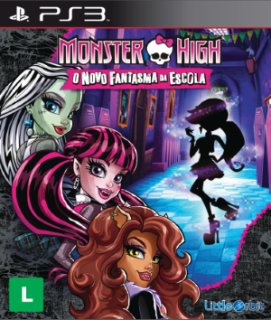 Monster High: o Novo Fantasma da Escola - PS3  - FastGames - Gamers levados a sério