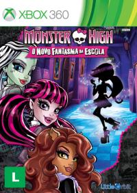 Monster High: o Novo Fantasma da Escola - XBOX 360  - FastGames - Gamers levados a sério