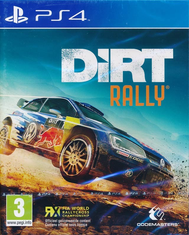 DiRT Rally - PS4  - FastGames - Gamers levados a sério