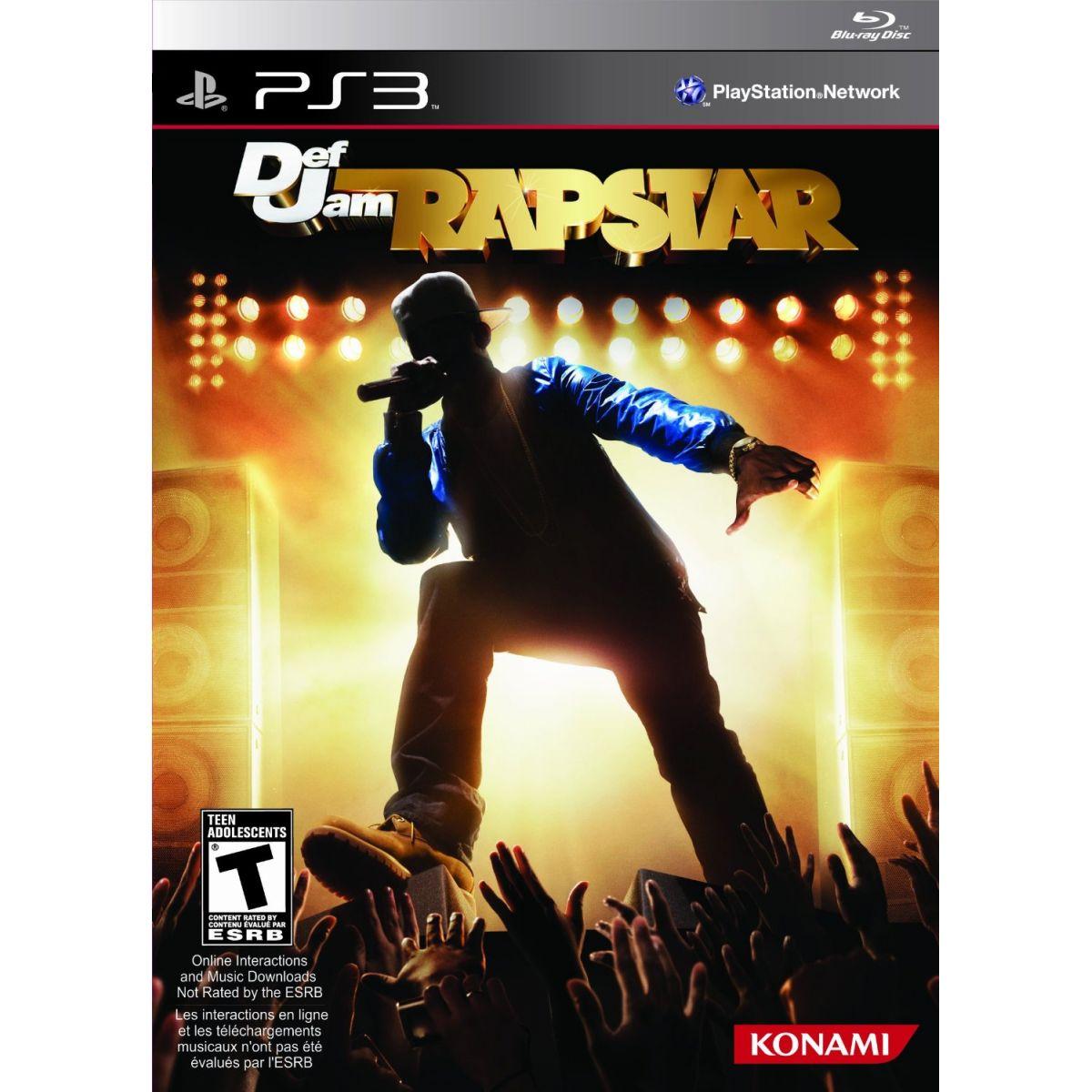 Def Jam Rapstar - PS3  - FastGames - Gamers levados a sério