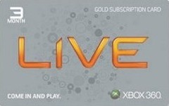 Xbox Live 3 Meses Gold Card (Live Americana)  - FastGames - Gamers levados a sério
