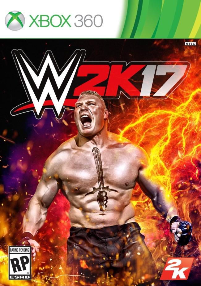 WWE 2K17 (Pr�-venda) - XBOX 360  - FastGames - Gamers levados a s�rio