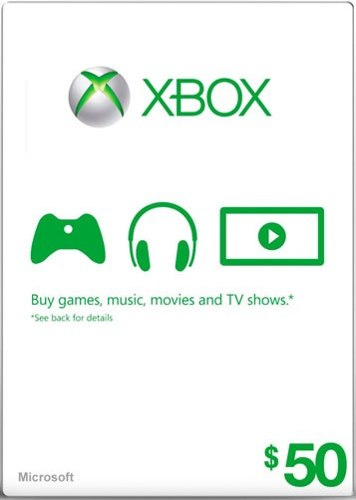 Cart�o XBOX Live $50 (Live Americana)  - FastGames - Gamers levados a s�rio