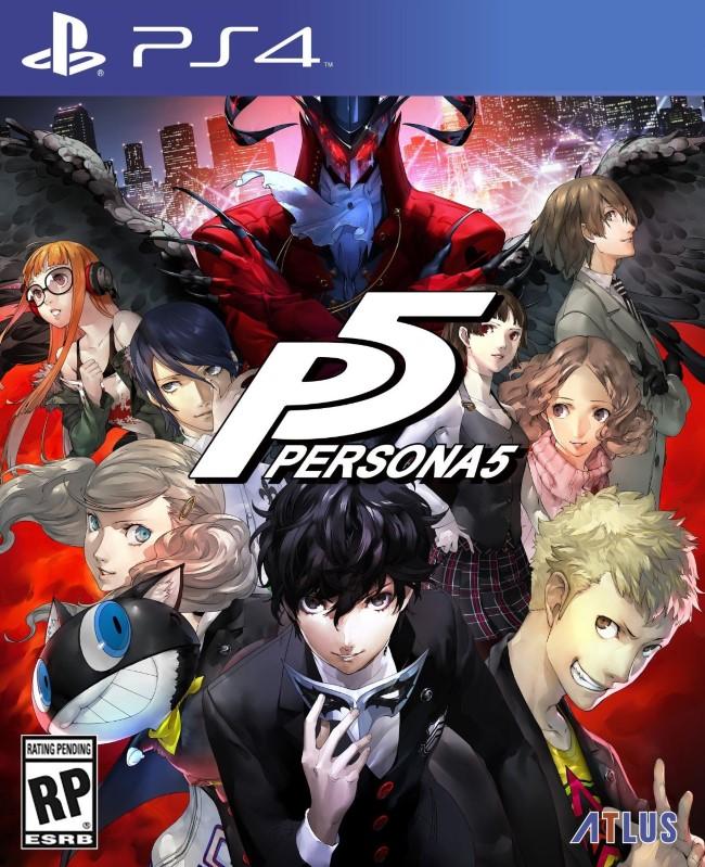 Persona 5 (Pré-venda) - PS4  - FastGames - Gamers levados a sério