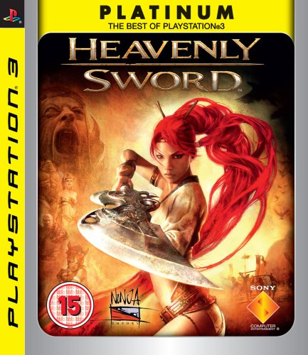 Heavenly Sword (Seminovo) - PS3 - FastGames - Gamers levados a sério