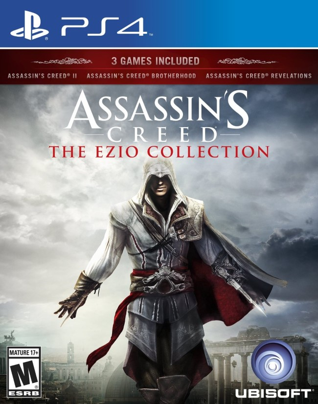 Assassins Creed The Ezio Collection (Pr�-venda) - PS4  - FastGames - Gamers levados a s�rio