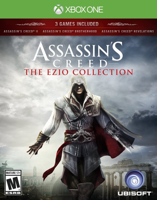 Assassins Creed The Ezio Collection (Pré-venda) - XBOX One  - FastGames - Gamers levados a sério