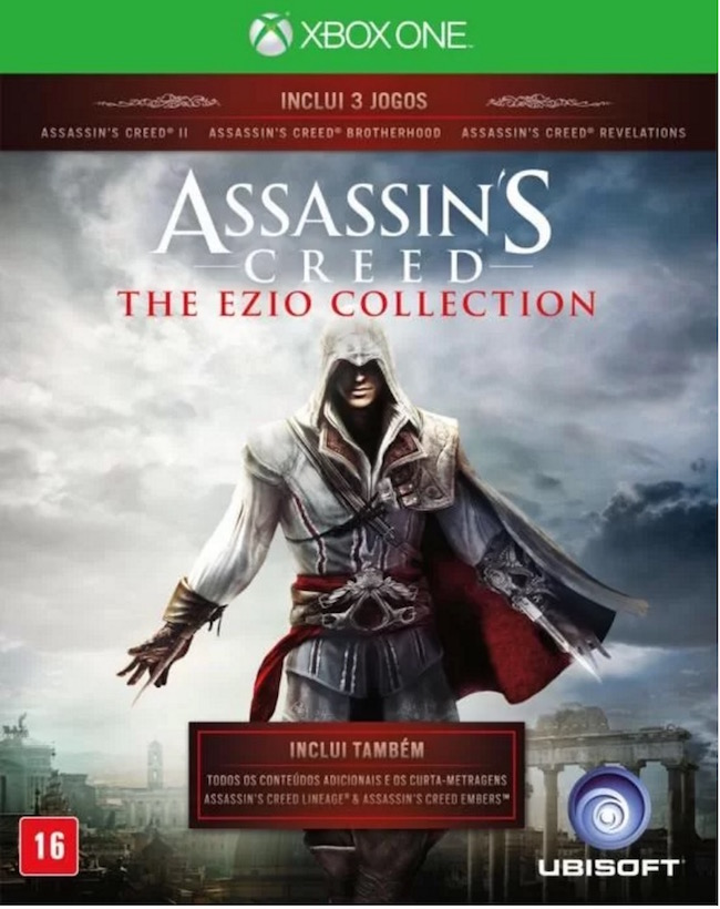 Assassins Creed The Ezio Collection - XBOX One  - FastGames - Gamers levados a sério