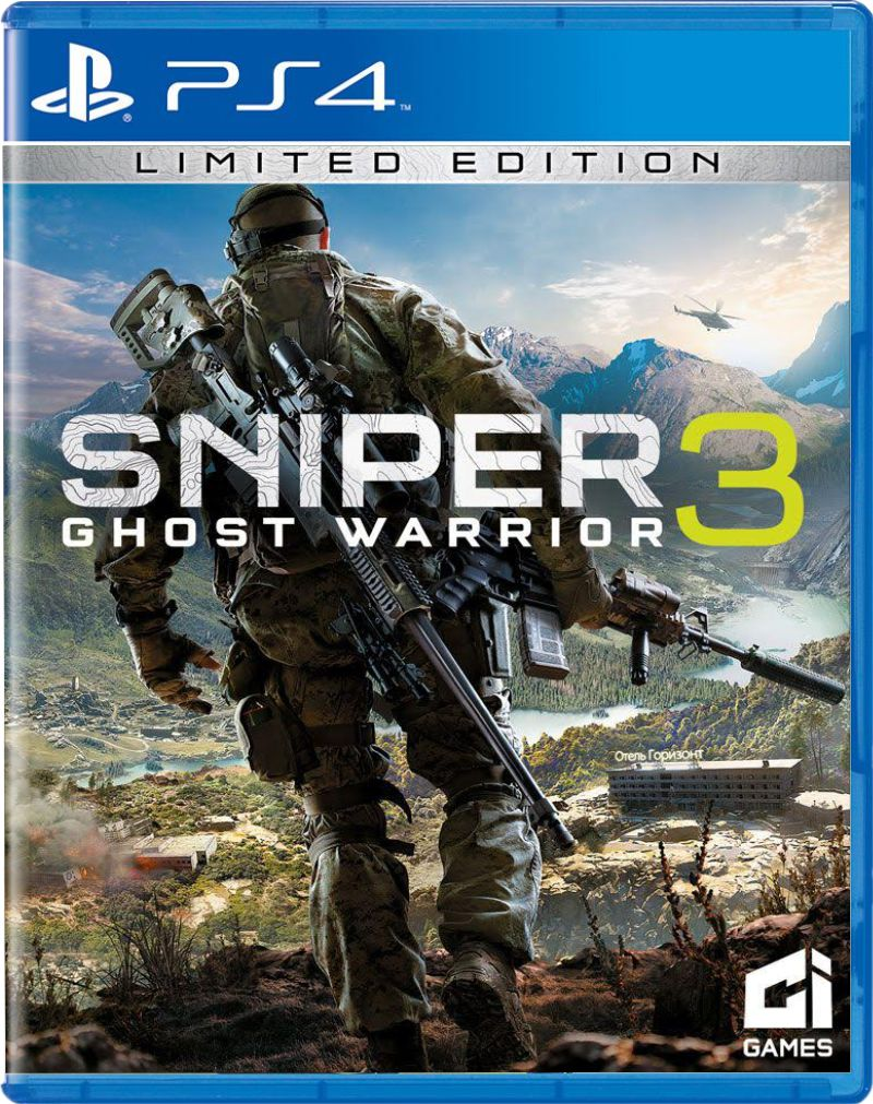 Sniper: Ghost Warrior 3 (Pré-venda) - PS4  - FastGames - Gamers levados a sério