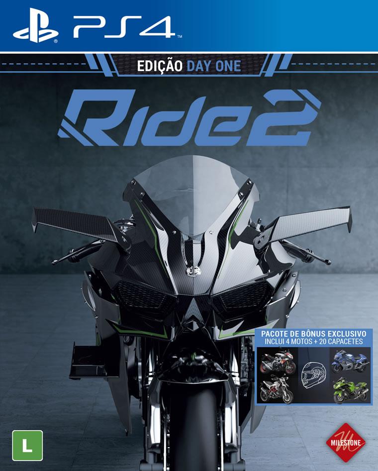 Ride 2 (Pré-venda) - PS4  - FastGames - Gamers levados a sério