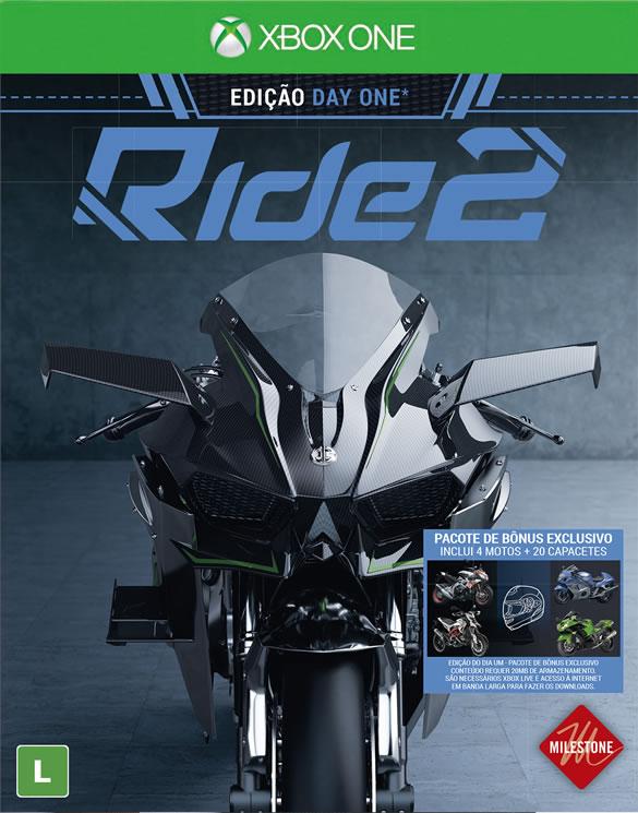 Ride 2 (Pré-venda) - XBOX One  - FastGames - Gamers levados a sério