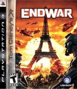 Tom Clancy´s Endwar (Seminovo) - PS3  - FastGames - Gamers levados a sério