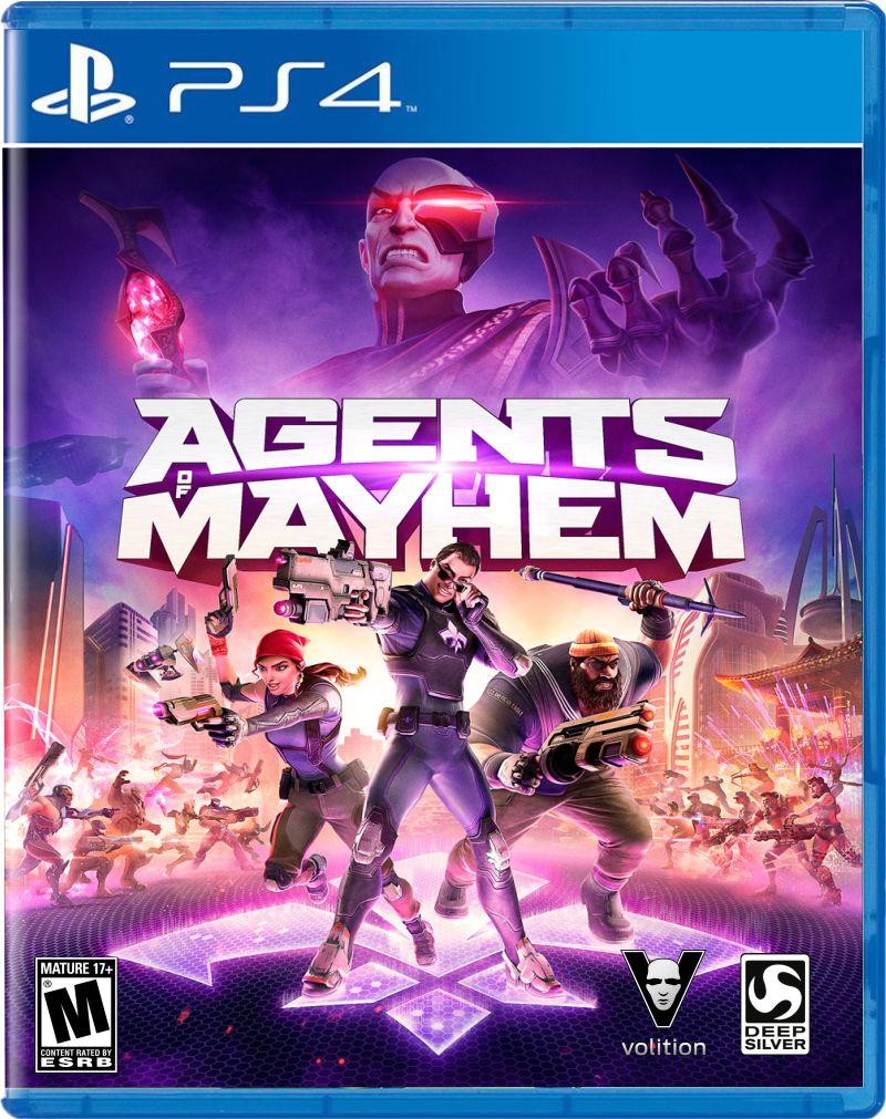 Agents of Mayhem (Pré-venda) - PS4  - FastGames - Gamers levados a sério