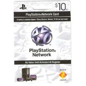 Cartão PSN $10  - FastGames - Gamers levados a sério