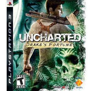 Uncharted: Drake´s Fortune (Seminovo) - PS3  - FastGames - Gamers levados a sério