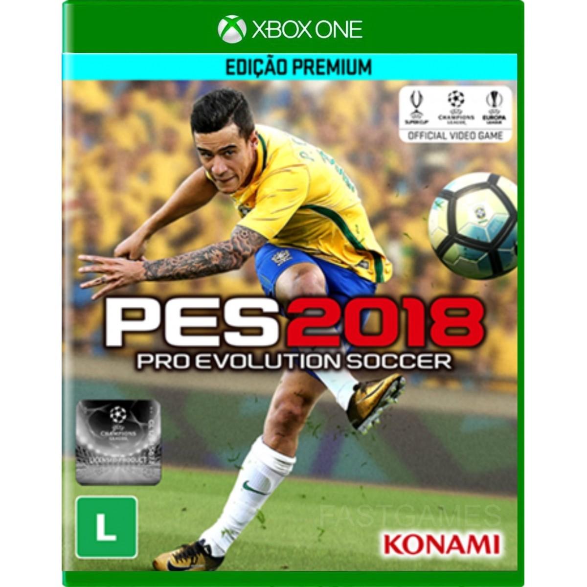 Pro Evolution Soccer (PES) 2018 (Pré-venda) - XBOX One  - FastGames - Gamers levados a sério