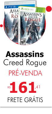 Assassins Creed Rogue PS3 e Xbox 360