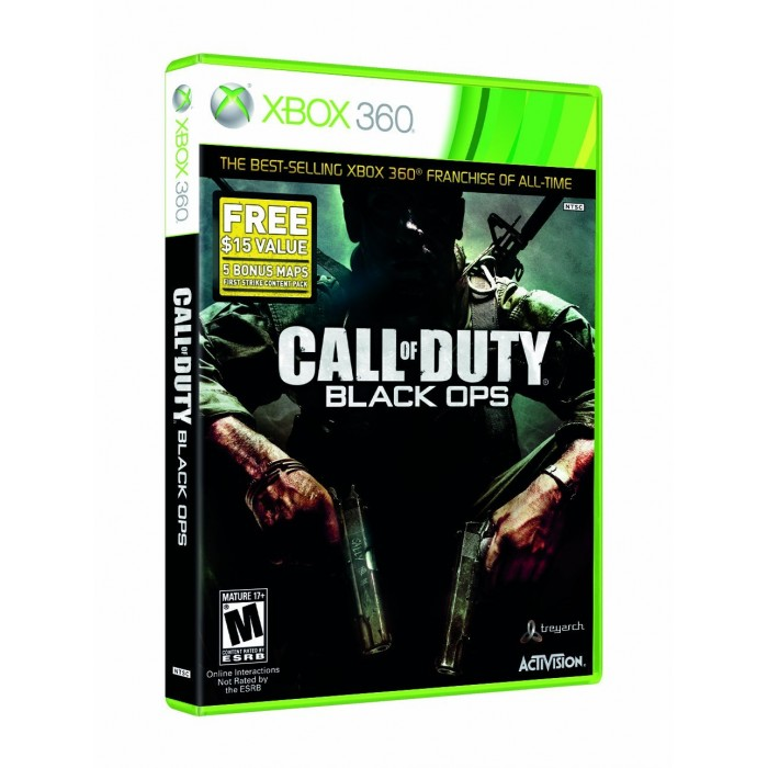 Call of Duty: Black Ops - XBOX 360  - FastGames - Gamers levados a s�rio
