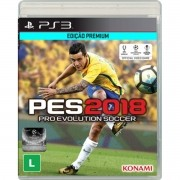 Pro Evolution Soccer (PES) 2018 (Pré-venda) - PS3