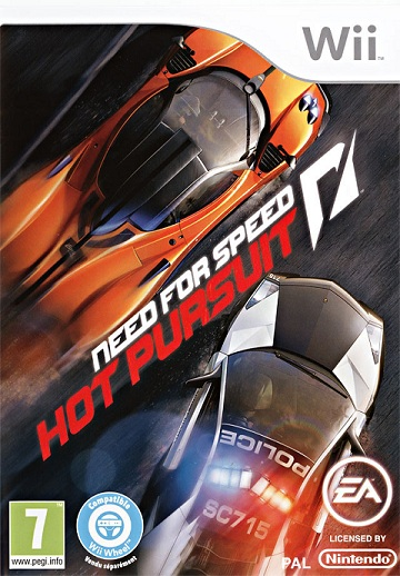 Need For Speed: Hot Pursuit - Wii  - FastGames - Gamers levados a sério