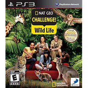 Nat Geo Challenge: Wild Life - PS3  - FastGames - Gamers levados a sério