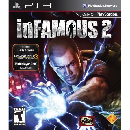 Infamous 2 (Seminovo) - PS3  - FastGames - Gamers levados a s�rio