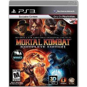 Mortal Kombat Komplete Edition - PS3  - FastGames - Gamers levados a sério