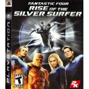 Fantastic Four: Rise of Silver Surfer (Seminovo) - PS3  - FastGames - Gamers levados a s�rio