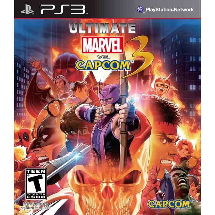Ultimate Marvel vs. Capcom 3 (Seminovo - Sem Capa e Encarte) - PS3  - FastGames - Gamers levados a sério