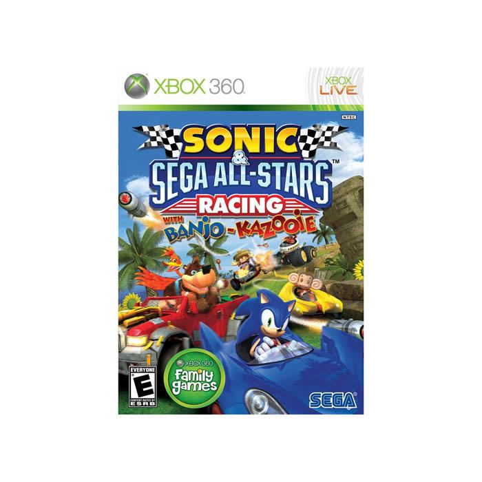 Sonic & Sega All-Stars Racing (Seminovo) - XBOX 360  - FastGames - Gamers levados a sério