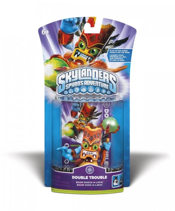 Skylanders Spyro´s Adventure: Boneco Double Trouble  - FastGames - Gamers levados a sério