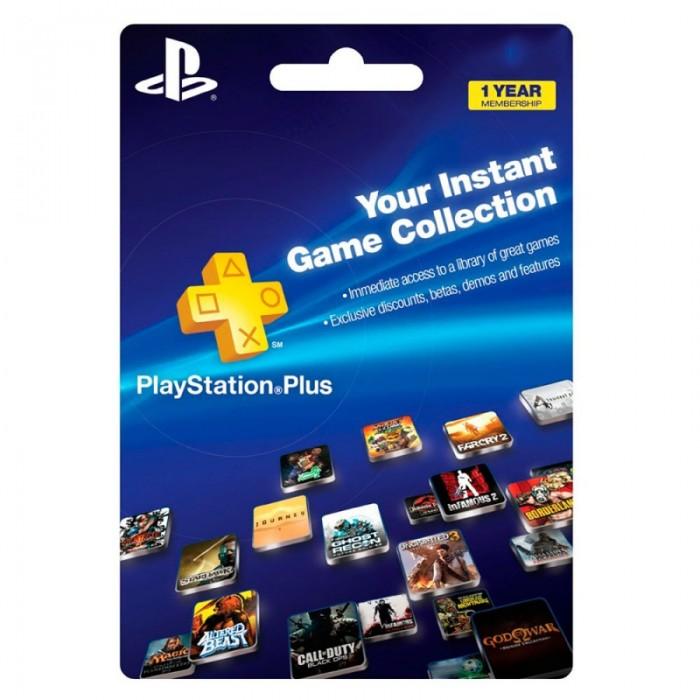 Cartão PSN Plus 12 Meses (PSN Americana)  - FastGames - Gamers levados a sério