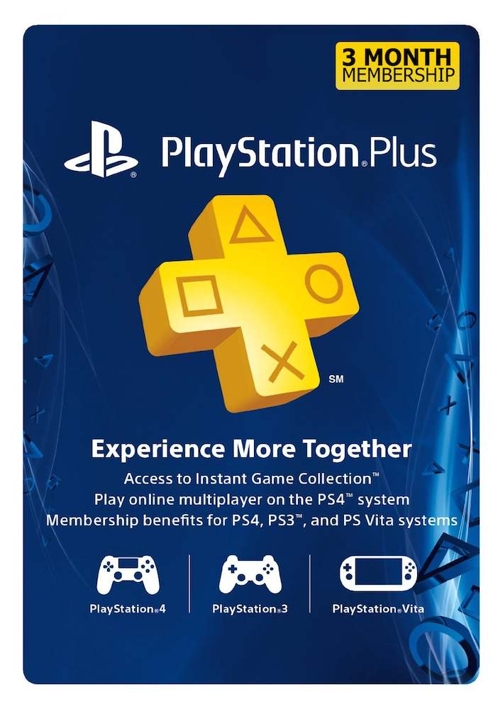 Cart�o PSN Plus 3 Meses (PSN Americana)  - FastGames - Gamers levados a s�rio