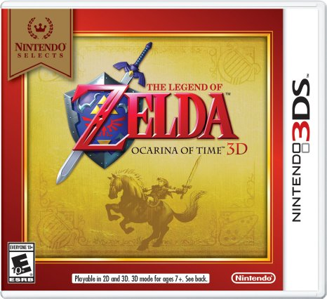 The Legend of Zelda: Ocarina of Time 3D - 3DS  - FastGames - Gamers levados a sério