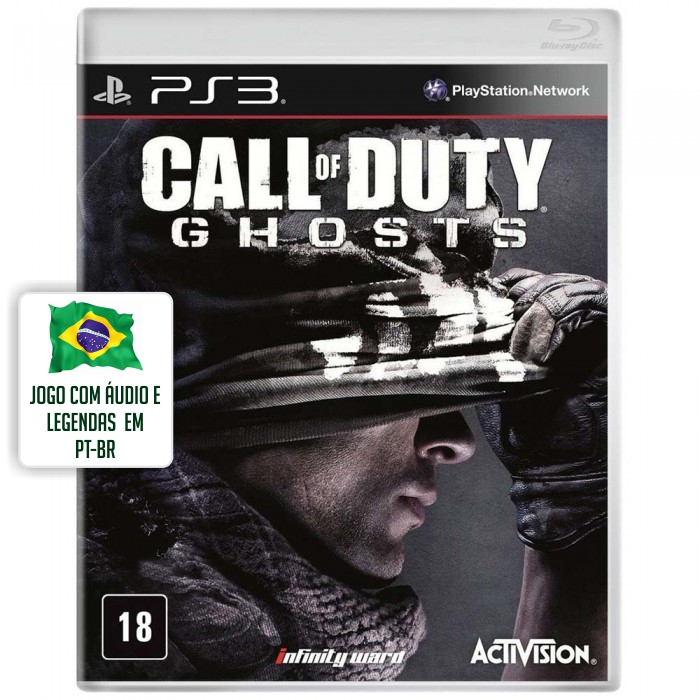 Call Of Duty: Ghosts (Seminovo) - PS3  - FastGames - Gamers levados a s�rio