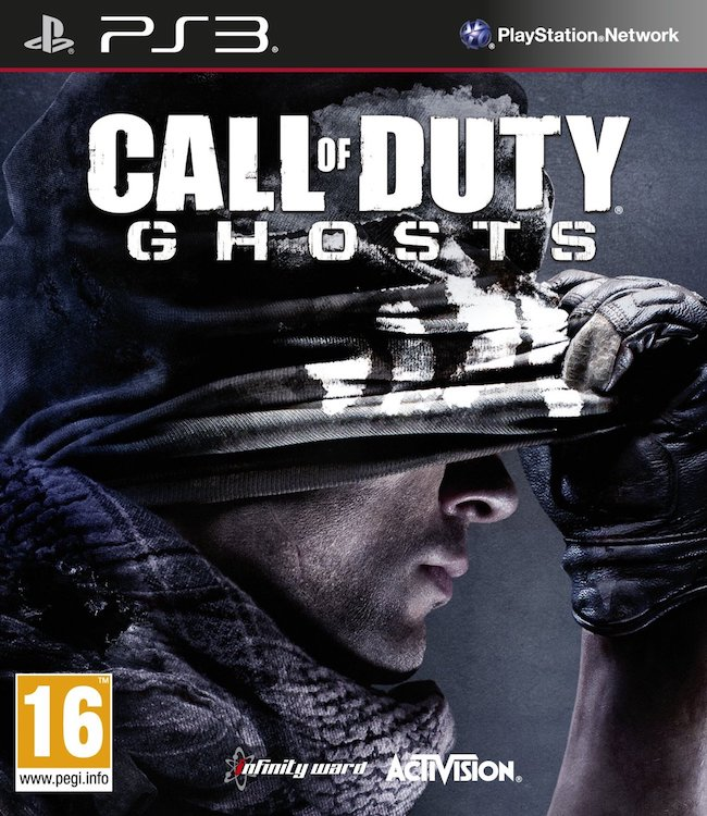 Call Of Duty: Ghosts (Seminovo) - PS3  - FastGames - Gamers levados a sério