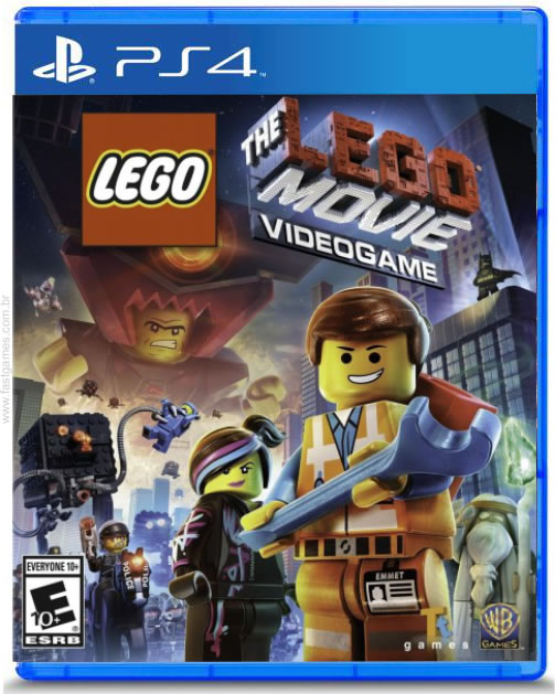 The Lego Movie Videogame - PS4  - FastGames - Gamers levados a sério