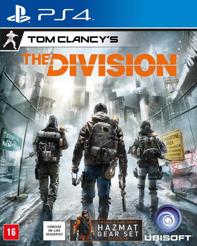 Tom Clancy`s The Division - PS4  - FastGames - Gamers levados a sério