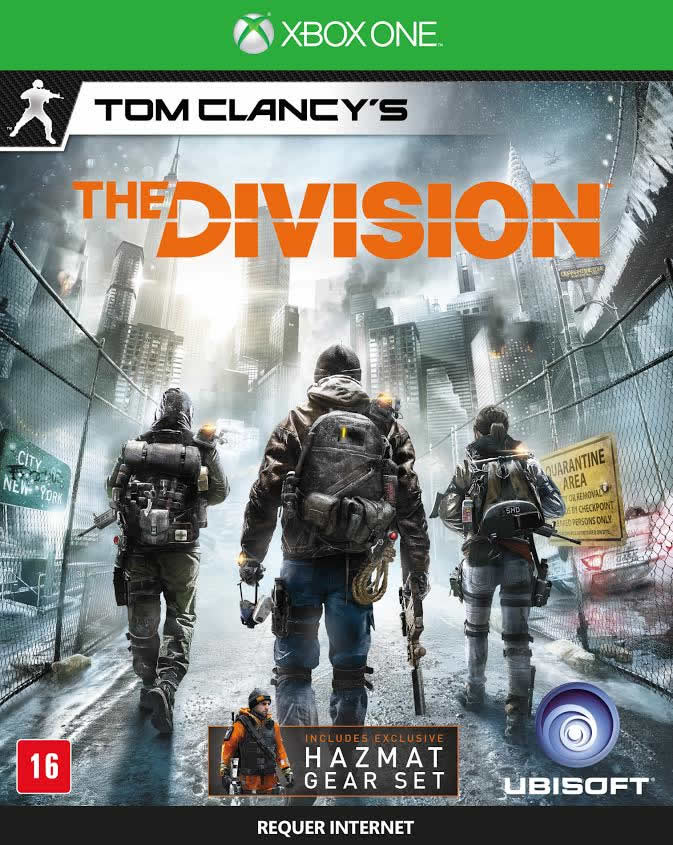Tom Clancy`s The Division - XBOX One  - FastGames - Gamers levados a sério