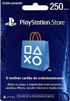 Cart�o PSN Brasil R$250  - FastGames - Gamers levados a s�rio