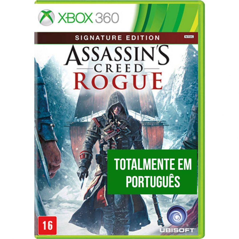 Assassins Creed Rogue - XBOX 360  - FastGames - Gamers levados a sério
