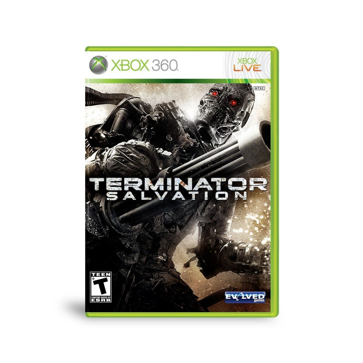 Terminator Salvation (Seminovo) - XBOX 360  - FastGames - Gamers levados a sério
