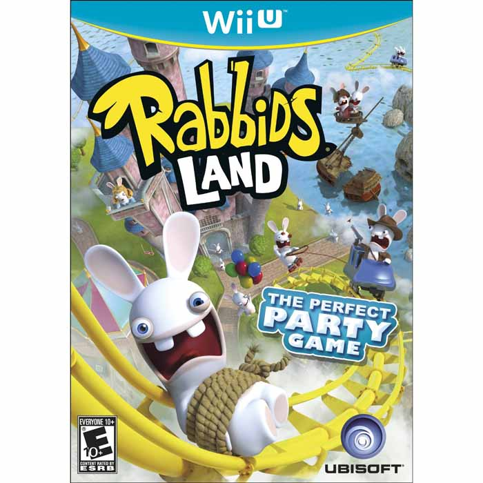 Rabbids Land (Seminovo) - Wii U  - FastGames - Gamers levados a sério
