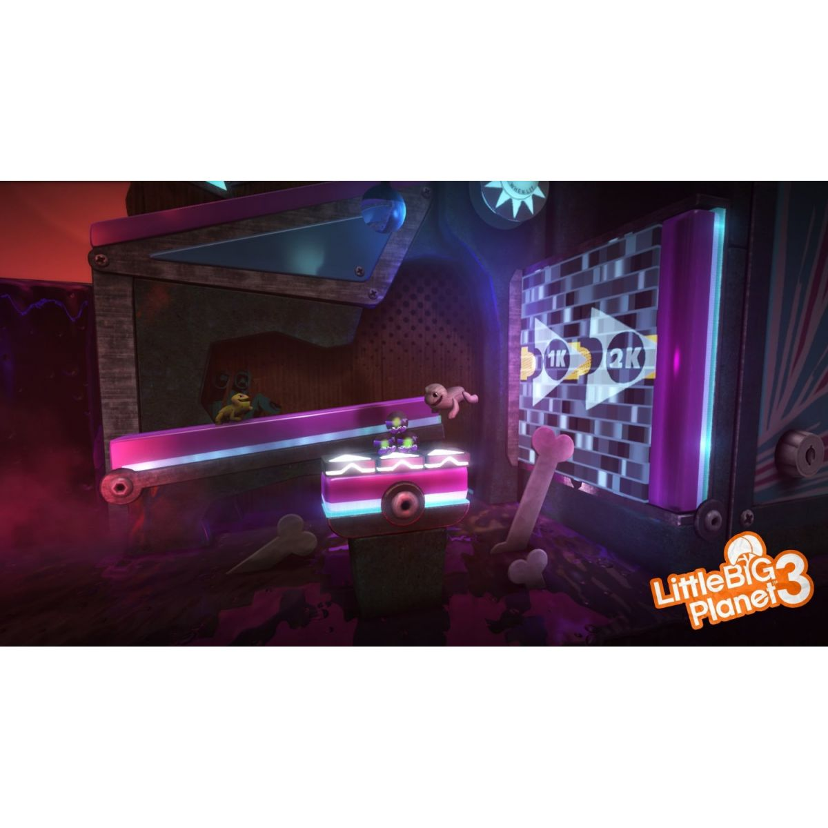 Little Big Planet 3 - PS4  - FastGames - Gamers levados a sério