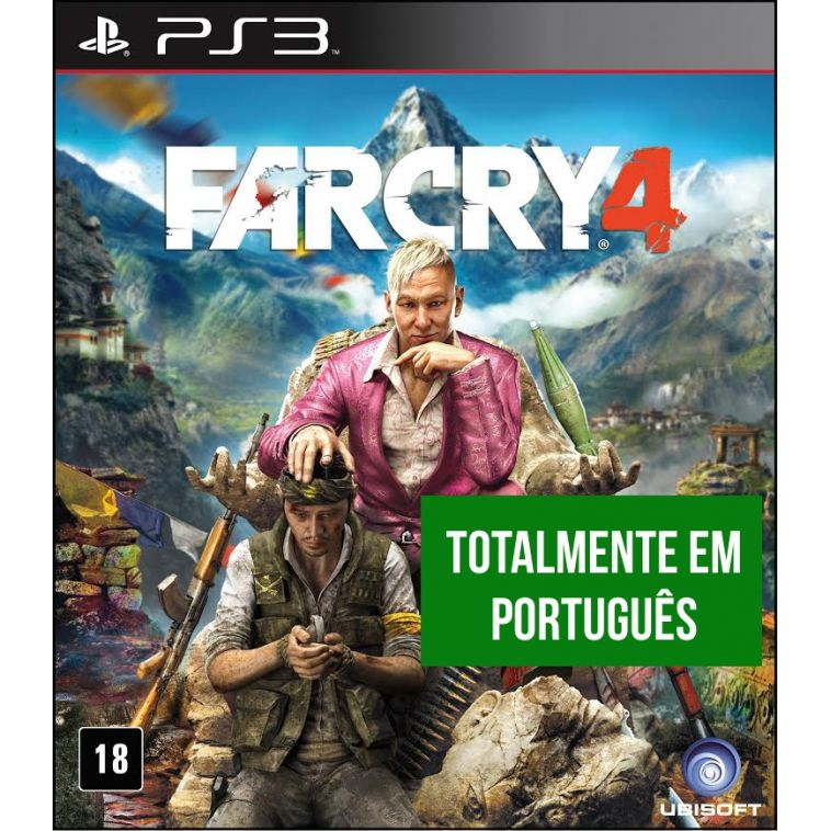Far Cry 4 (Seminovo) - PS3  - FastGames - Gamers levados a sério