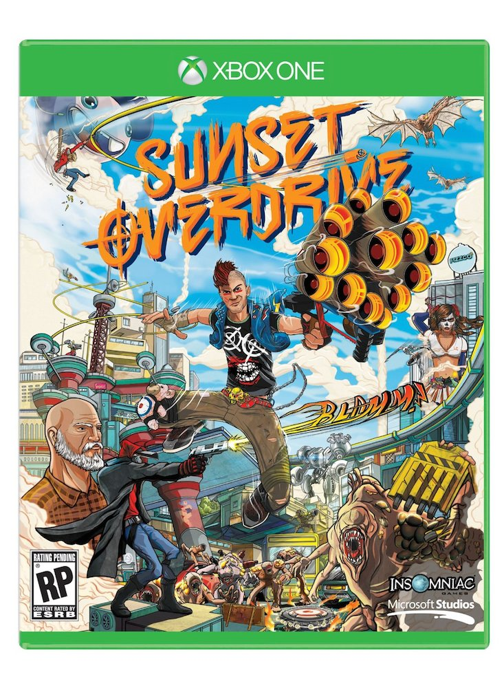 Sunset Overdrive (Seminovo) - XBOX One  - FastGames - Gamers levados a sério