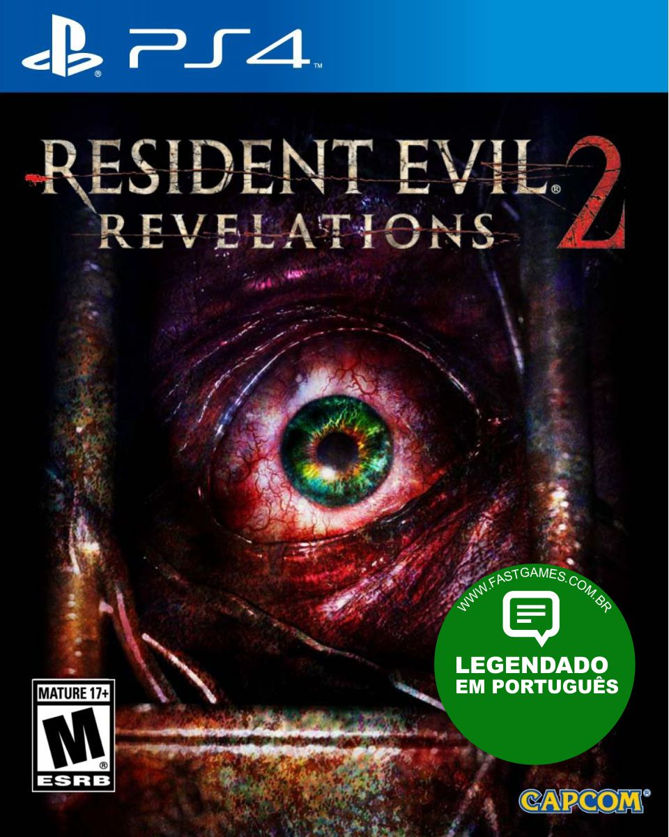 Resident Evil: Revelations 2 - PS4  - FastGames - Gamers levados a s�rio