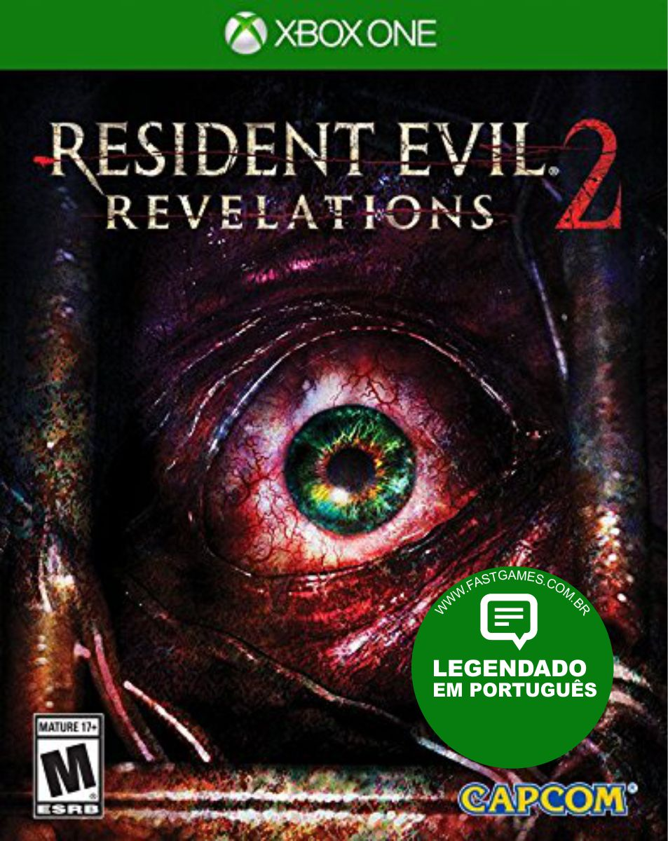 Resident Evil: Revelations 2 - XBOX One  - FastGames - Gamers levados a sério