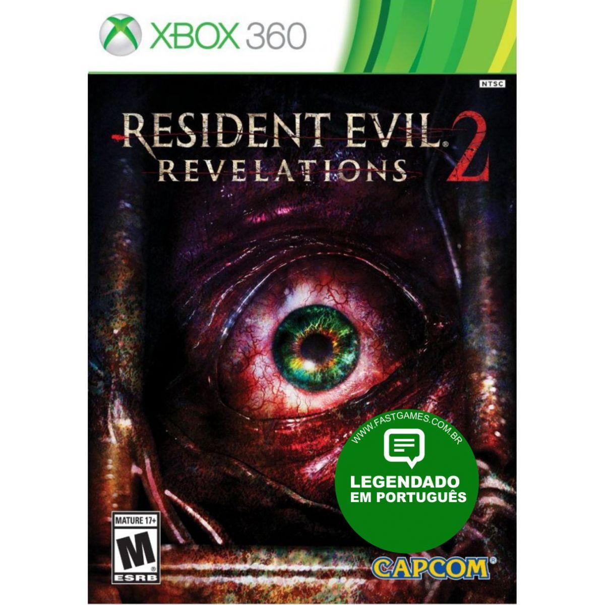 Resident Evil: Revelations 2 - XBOX 360  - FastGames - Gamers levados a sério
